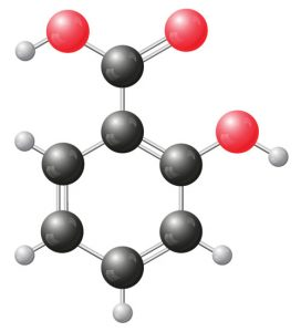 Salicilna kislina - formula