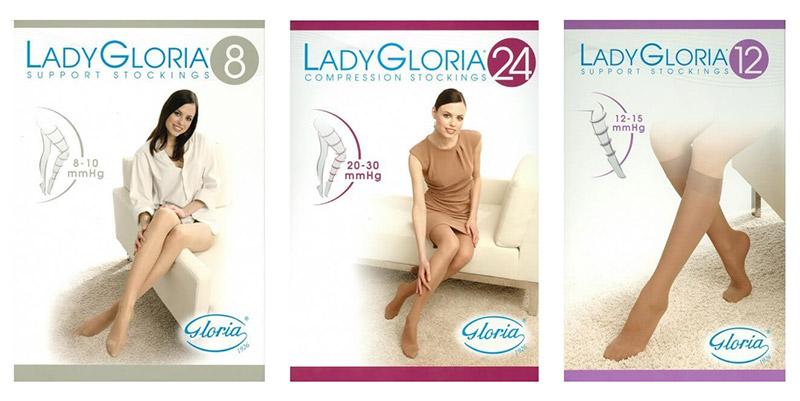 Kompresijske nogavice Lady Gloria